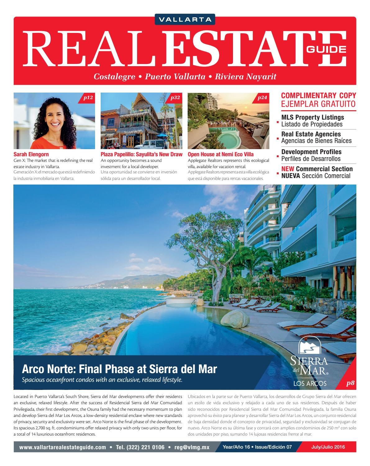 Vallarta Real Estate Guide Julio 2016 By Vallarta Lifestyles Media  # Muebles Pitillal