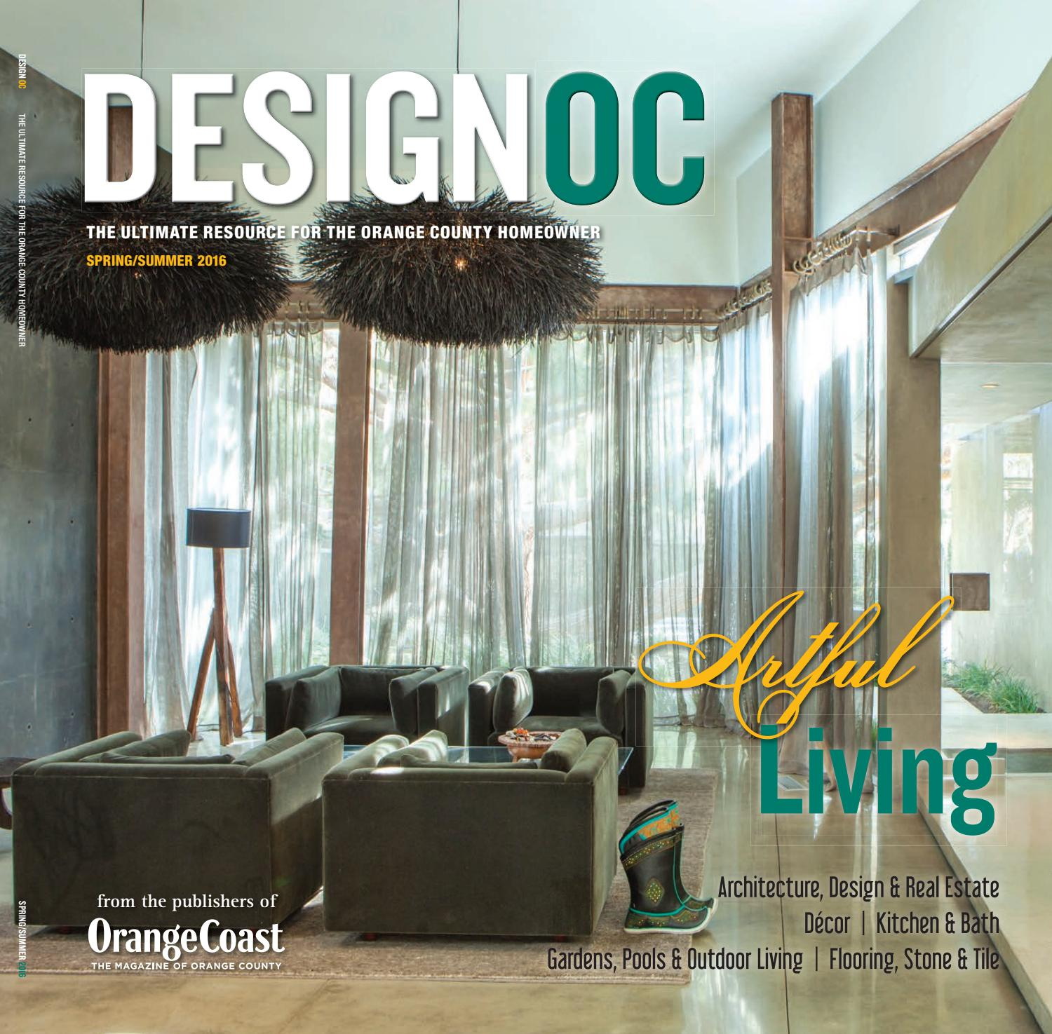 Design Oc Springsummer 2016 By Orange Coast Magazine Issuu - Luxury-silver-and-gold-tiles-by-acquario
