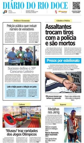 Diário do Rio Doce - Edição de 19 07 2016 by Diário do Rio Doce - issuu 14b5b2e64049a