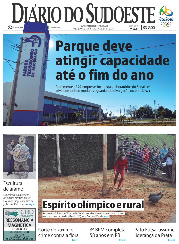 Diário do sudoeste 19 de julho de 2016 ed 6679 by Diário do Sudoeste - issuu 7a58050c80a8a