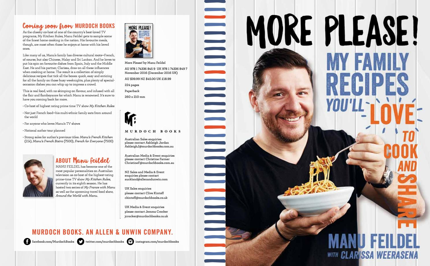 More please! Manu Feildel November 2016 by Murdoch Books - issuu