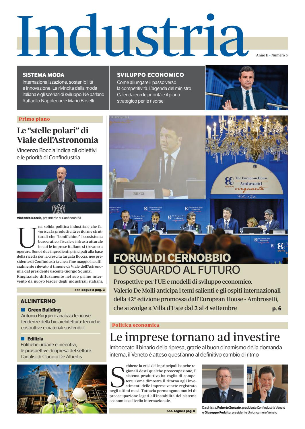 Industria Luglio 2016 by Golfarelli Editore International Group - issuu 96d6af94192