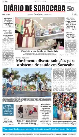 Edição de 19 de julho de 2016 by DIÁRIO DE SOROCABA - issuu 3081791eefa53