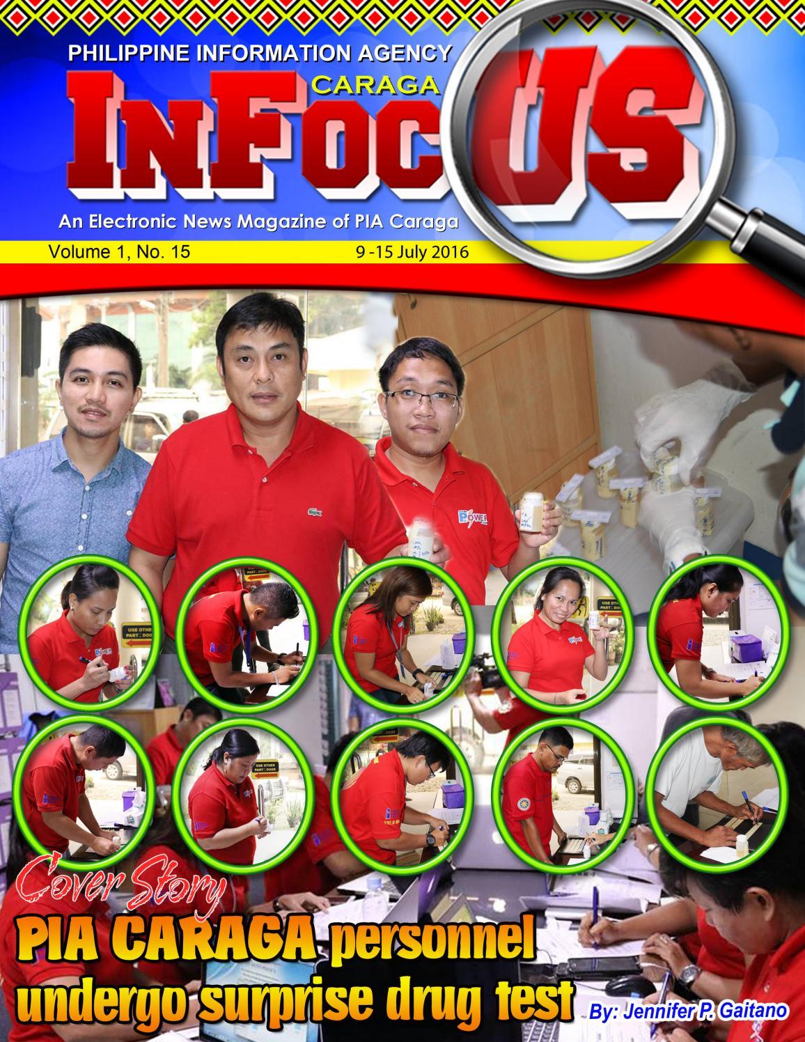 Caraga InFocus - July 9 - 15, 2016 by Caraga InFocus - issuu