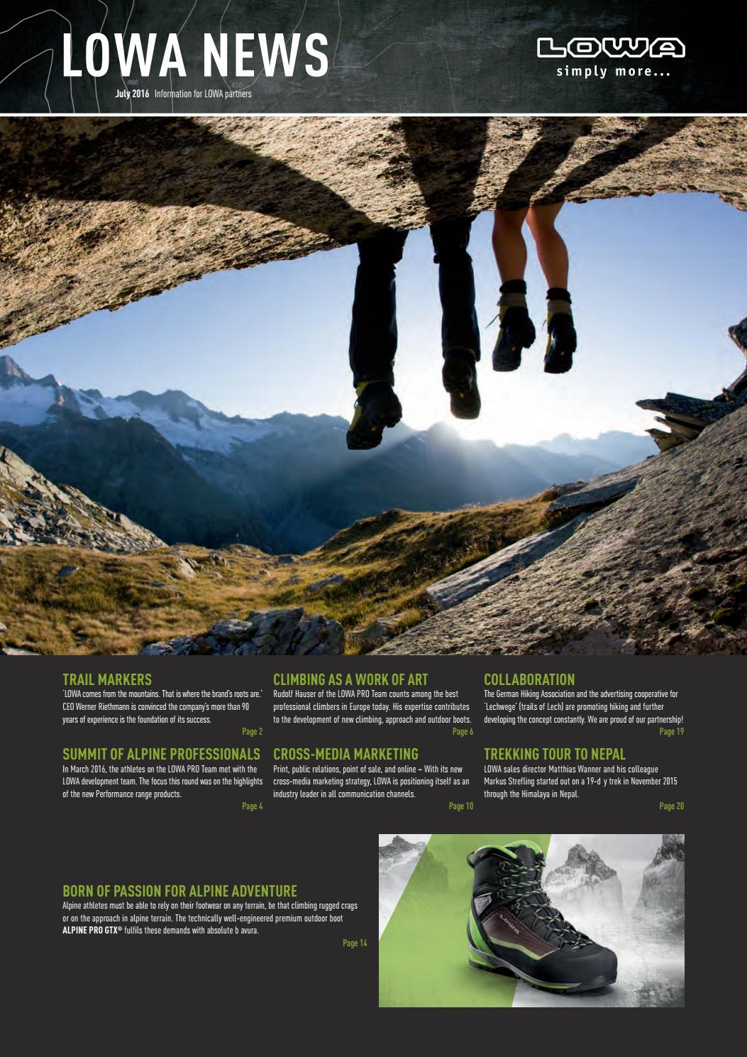 Lowa News 20 Eng by MountainBlogIT   issuu
