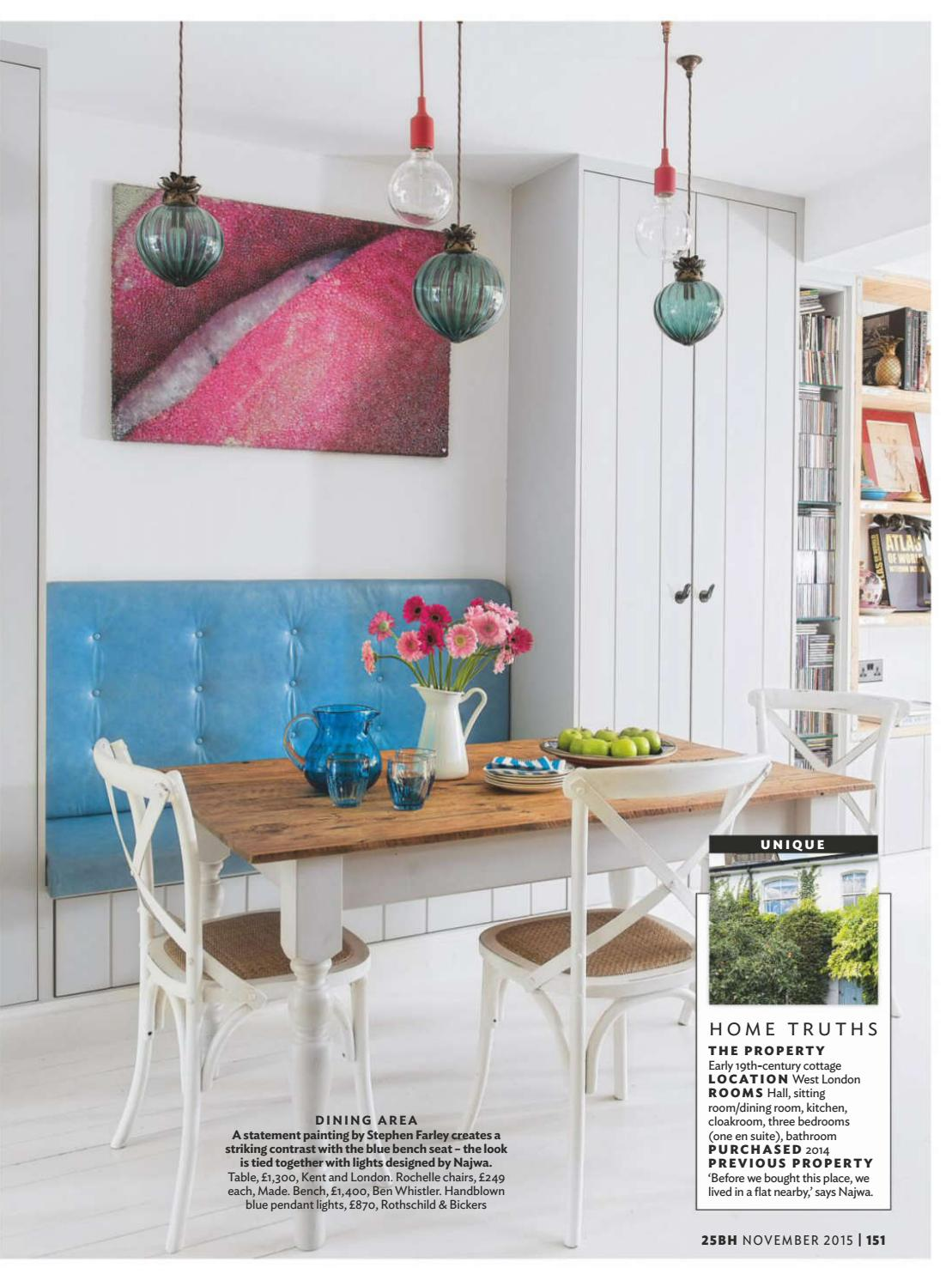 Super 25 Beautiful Homes November 2015 By Umberto Diniz Issuu Squirreltailoven Fun Painted Chair Ideas Images Squirreltailovenorg