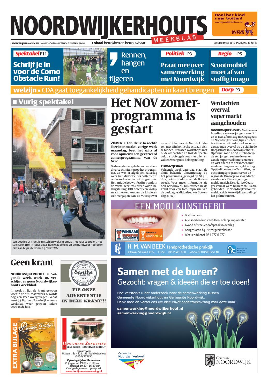 nwhw week 29 16 by uitgeverij verhagen issuu