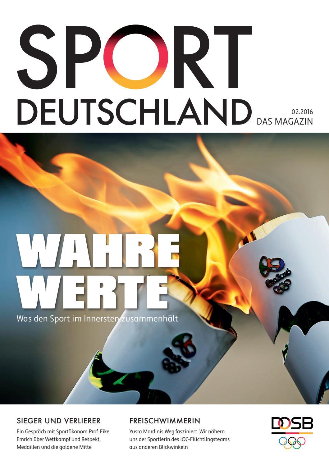 Sportdeutschland Das Magazin Ausgabe 2 16 By Deutsche Sport Marketing Gmbh Issuu