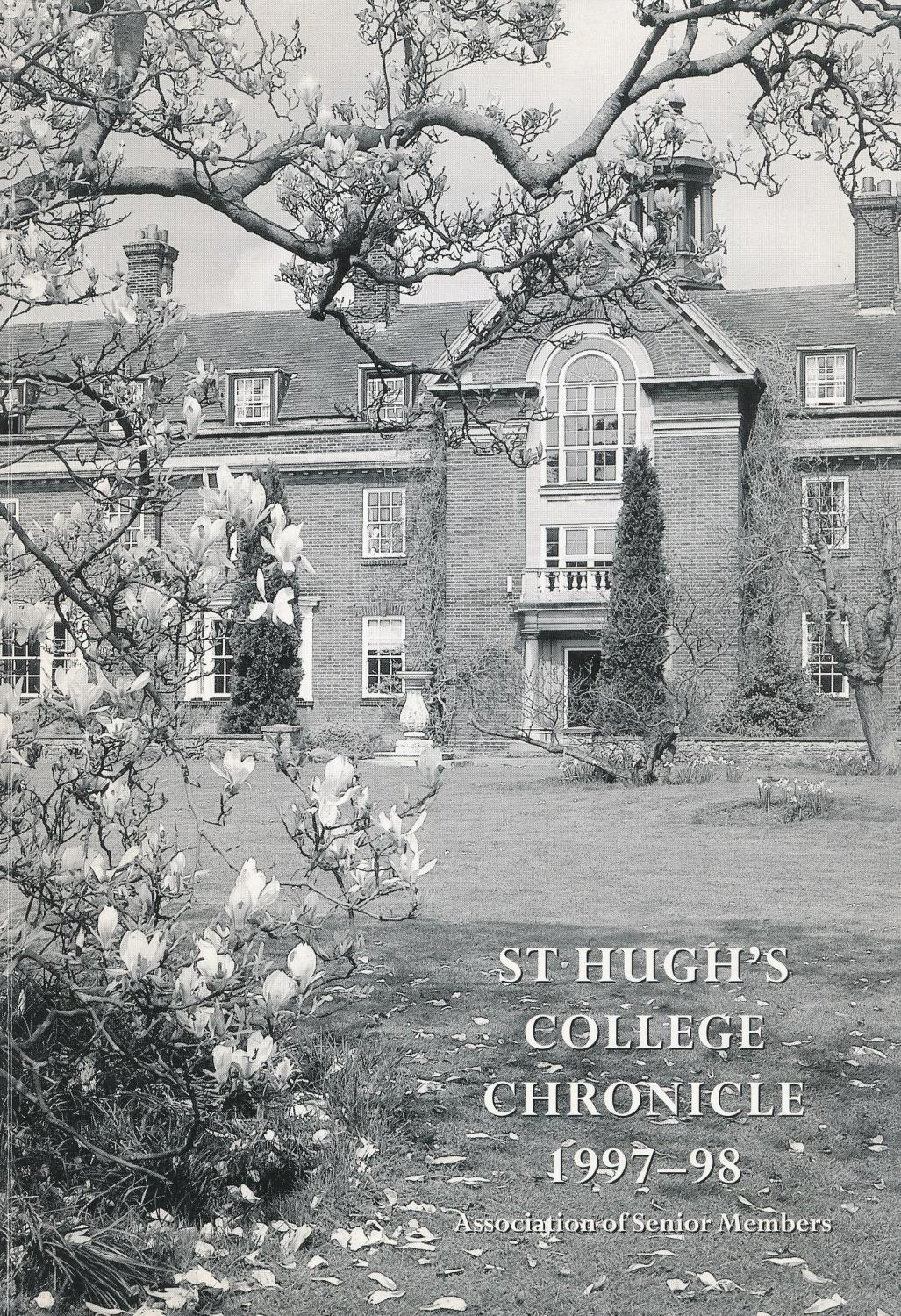 St Hughs College Oxford Chronicle 1997 1998 By St Hughs