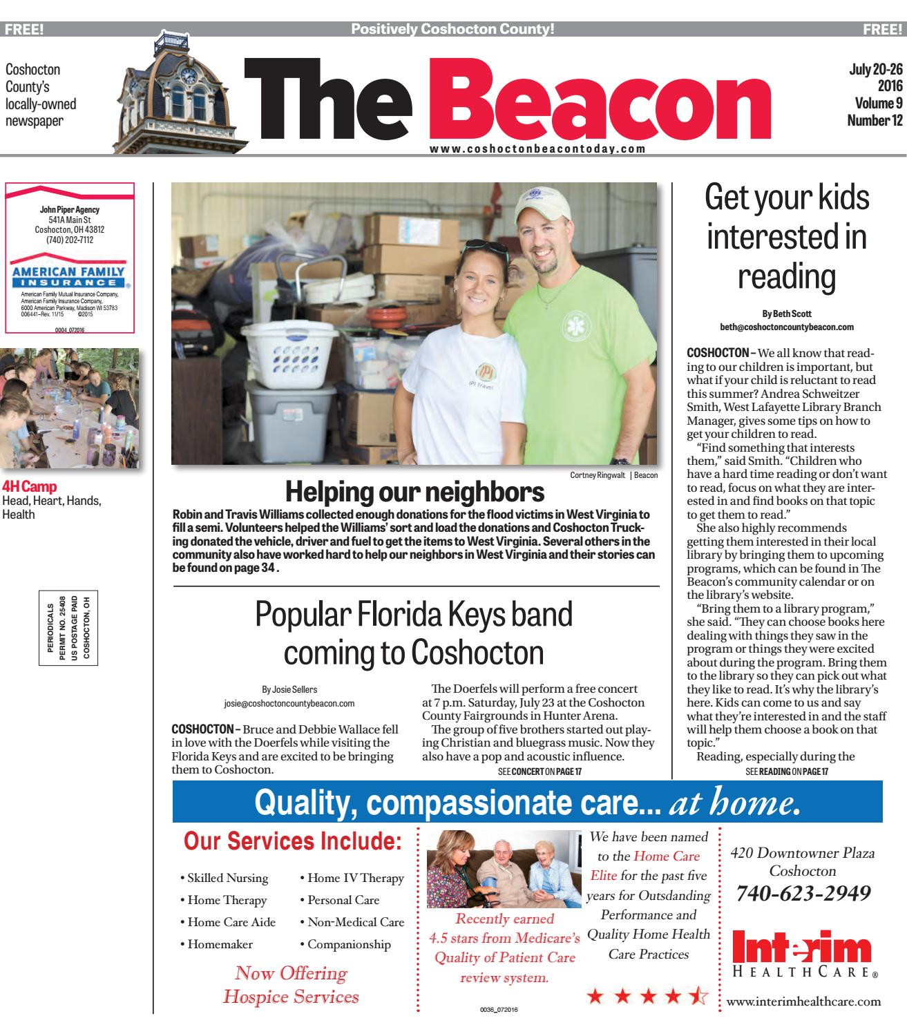 July 20 2016 Coshocton County Beacon