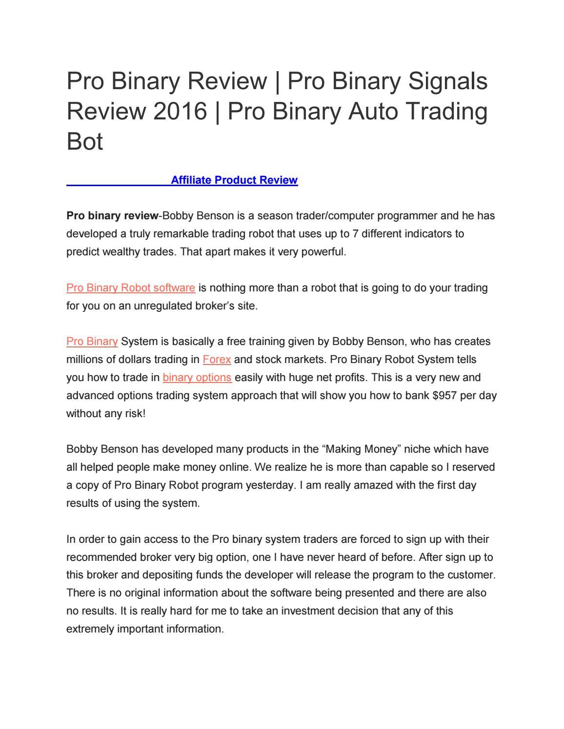 automated binary erfahrungen was mit bitcoins zu investieren