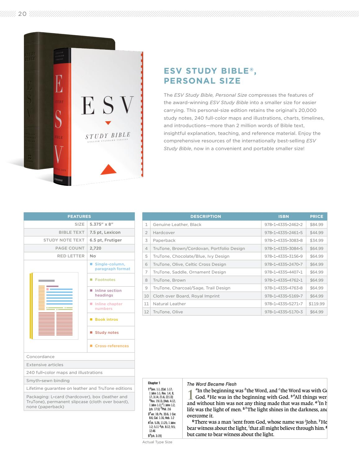 ESV Winter 2017 Bible Catalog by Crossway - issuu