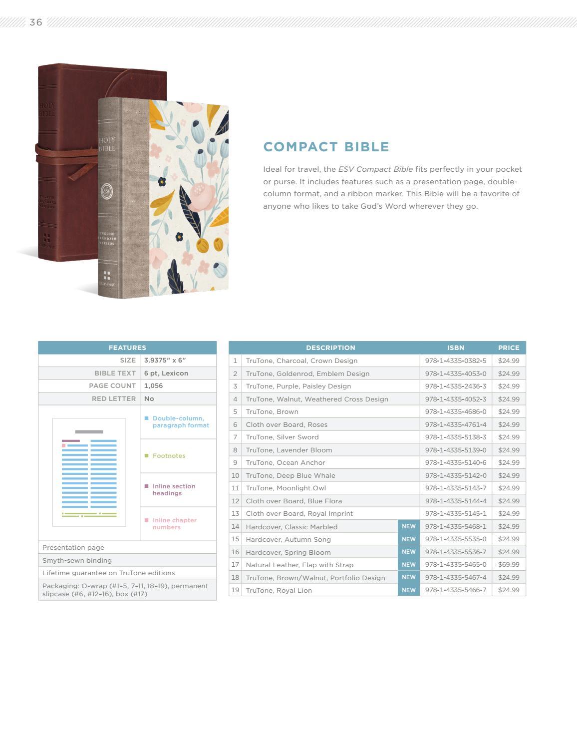 ESV Winter 2017 Bible Catalog by Crossway - issuu