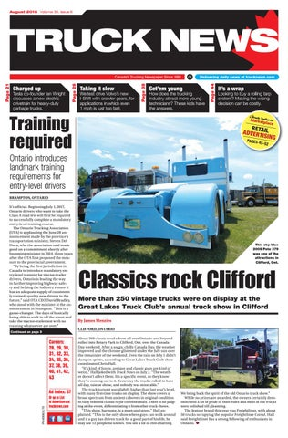 Truck News August 2016 by Annex Business Media - issuu