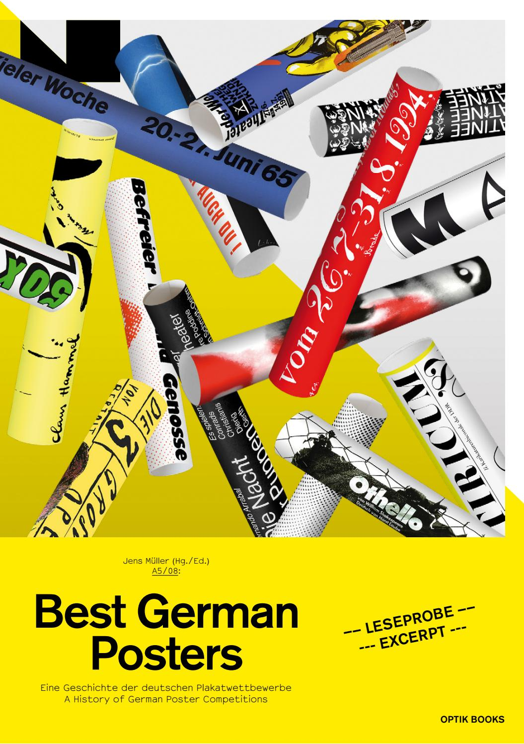 A5/08: Best German Posters by A5 Graphic Design History - issuu