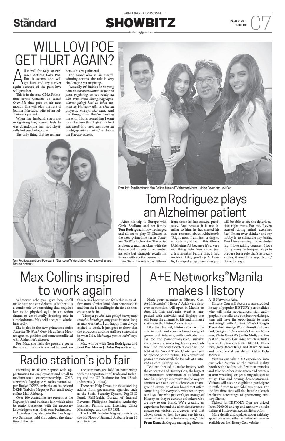 The Standard - 2016 July 20 - Wednesday by Manila Standard