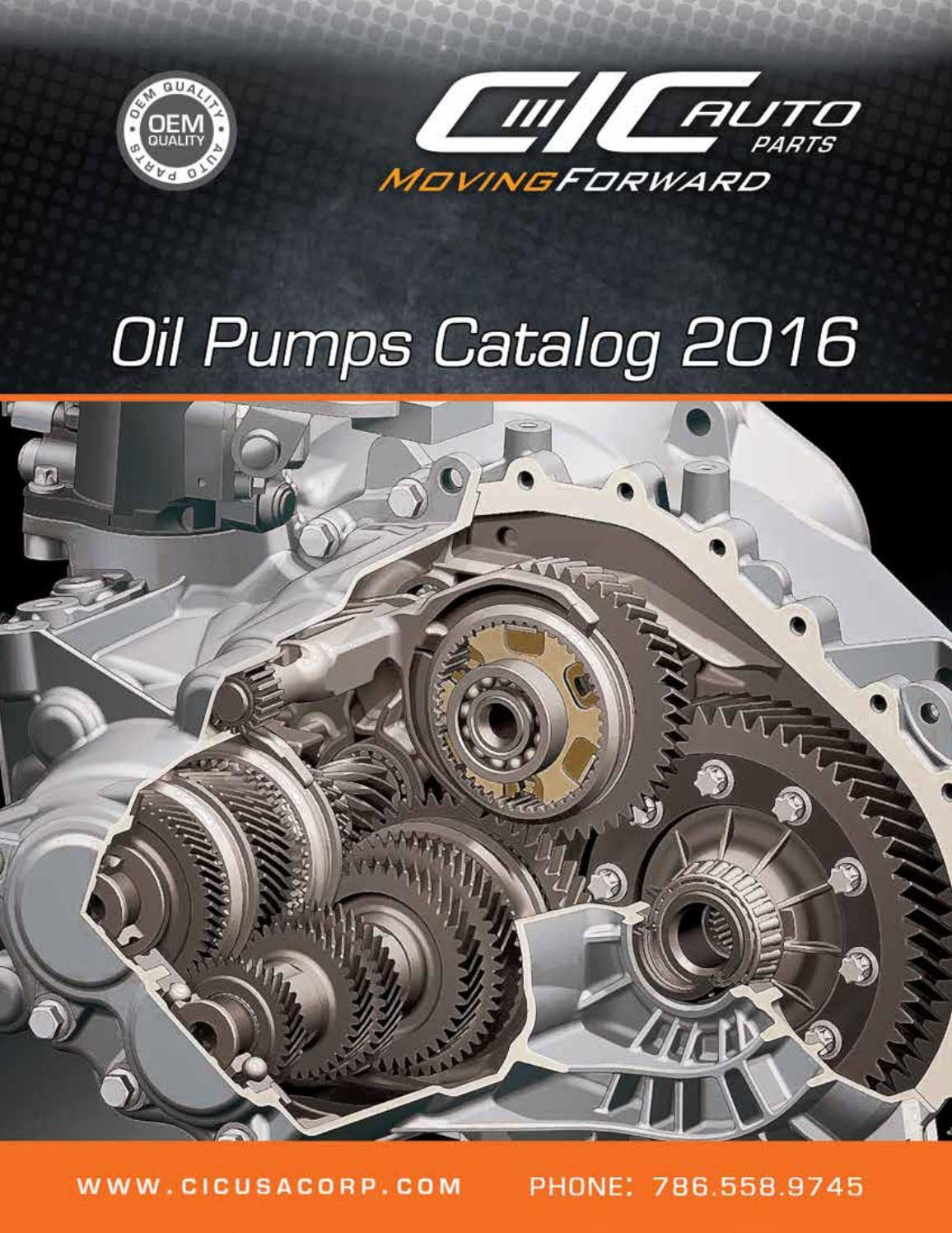 Oil pumps catalog 2016 by cic usa corp issuu publicscrutiny Gallery