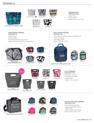 NEW Thirty One Go To Thermal in Check Mate