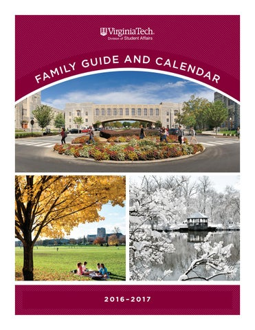 2016 2017 Family Guide And Calendar By Division Of Student