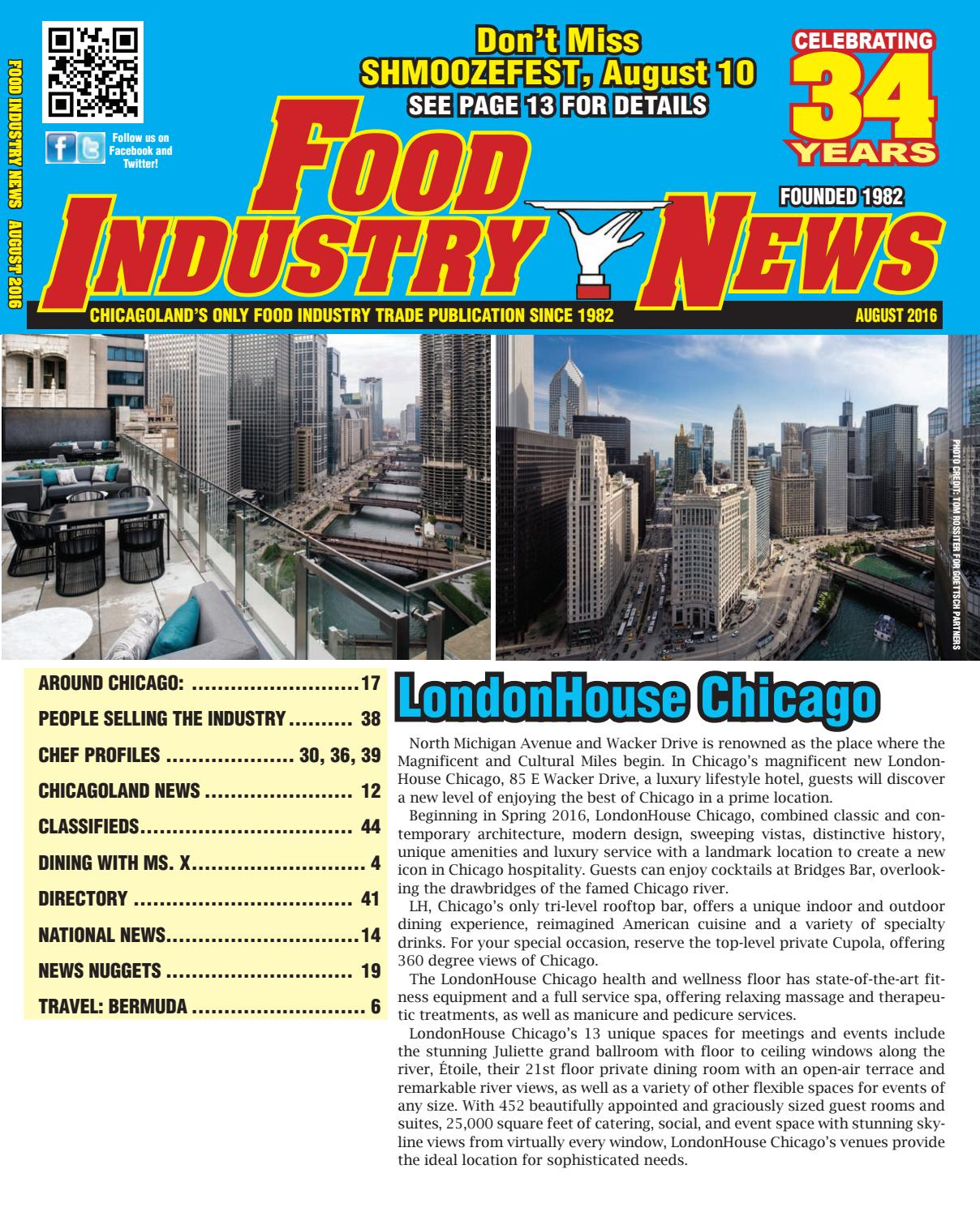 food industry news august 2016 web edition by foodindustrynews issuu