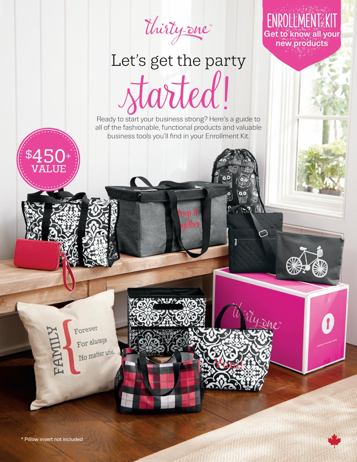 Thirty one enrollment kit flyer fall 2016 canadian edition by thirty one enrollment kit flyer fall 2016 canadian edition by lornapasinato issuu magicingreecefo Image collections