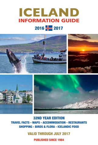 Iceland Information Guide 2016 - 2017 by Erlendur
