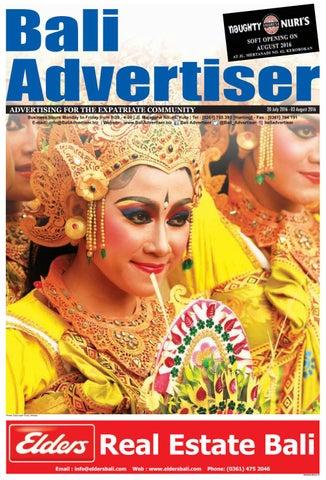BA_20 July 2016 by Bali Advertiser - issuu