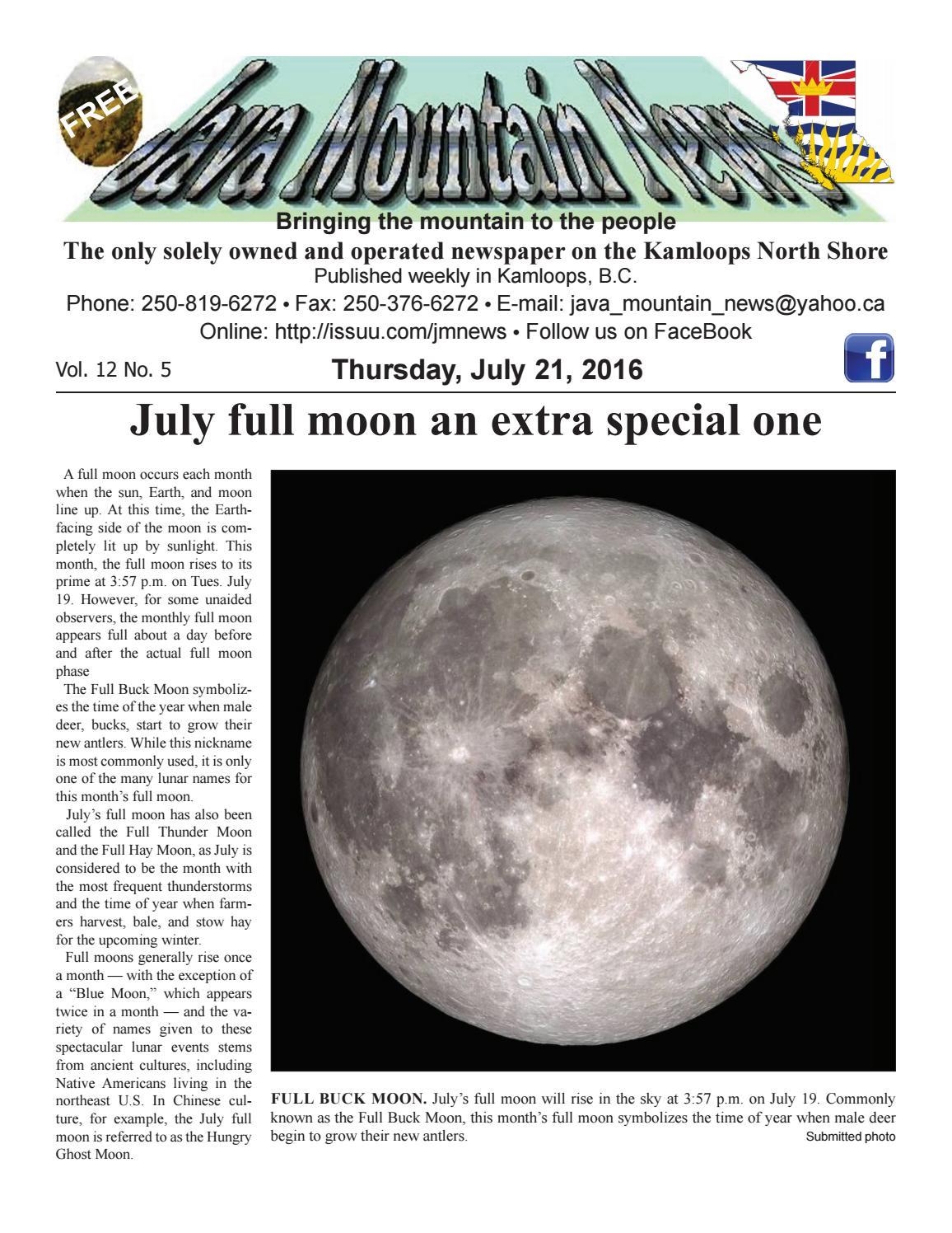 Jmnews july 21, 2016 by Java Mountain News - issuu
