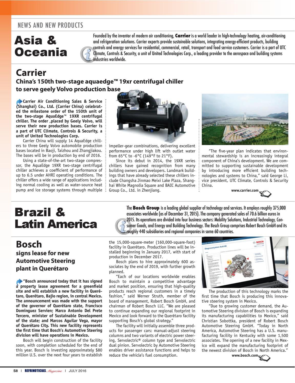 REFRINOTICIAS AL AIRE México, USA & Latinoamérica · Julio