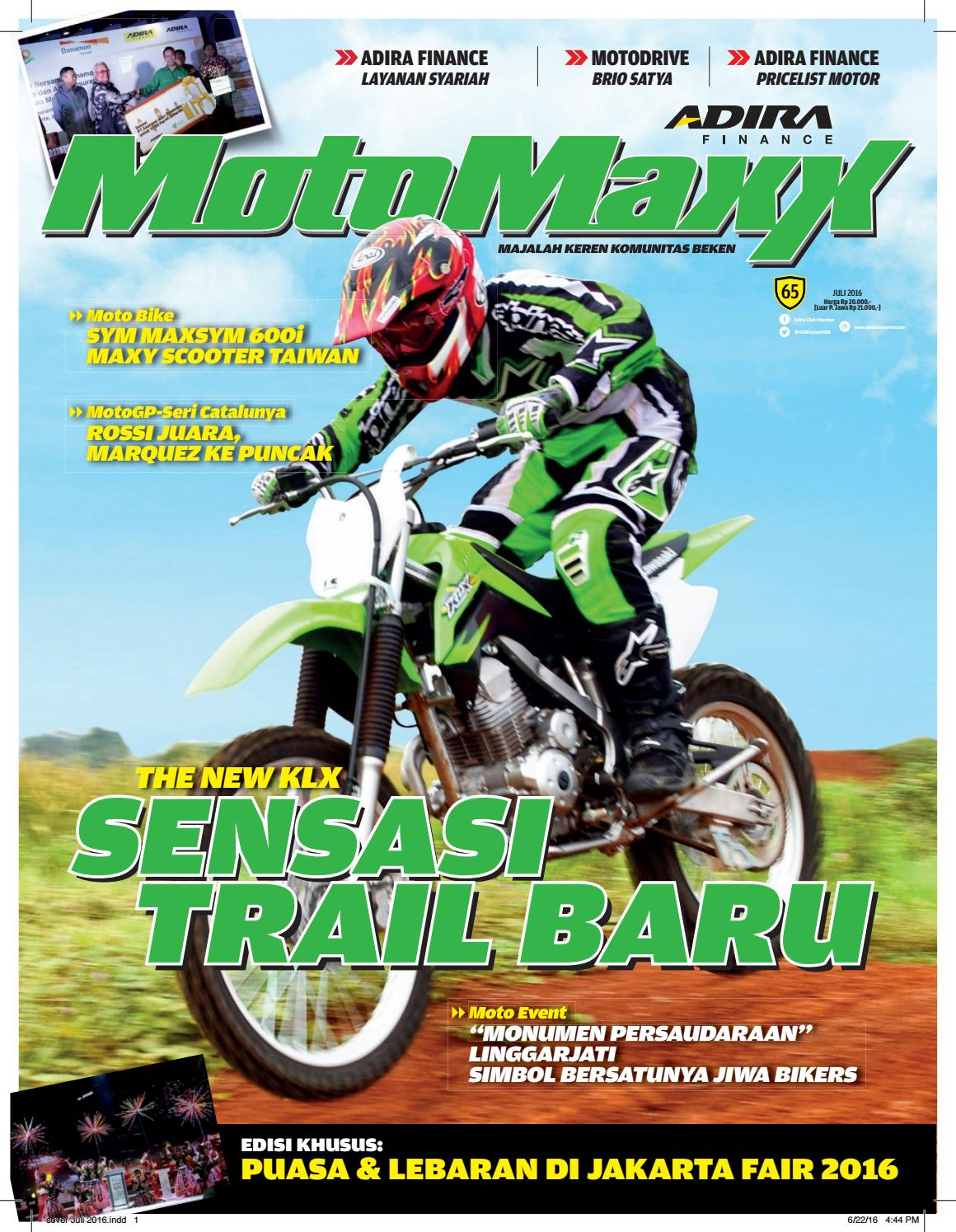 Motomaxx 07 2016 By Adira Member Issuu New Beat Street Esp Black Wonogiri