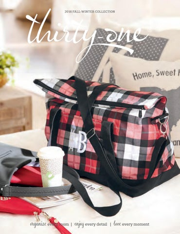 51025944688c0 Thirty One 2016-2017 Fall Winter Catalog by Thirty One Gifts • Ind ...