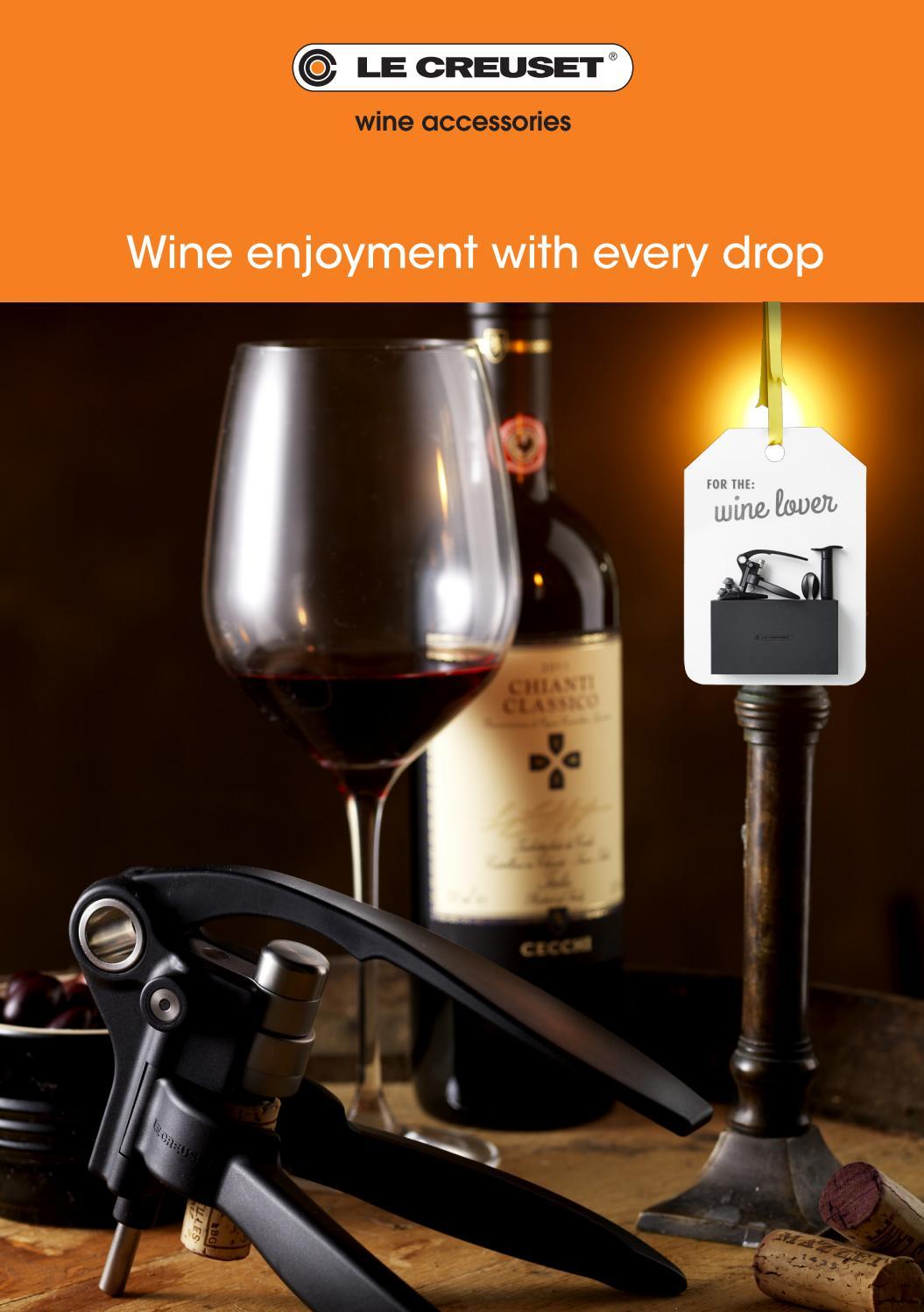 Cerise Le Creuset Wine Accessories WA-126 Wine Bottle Cooler