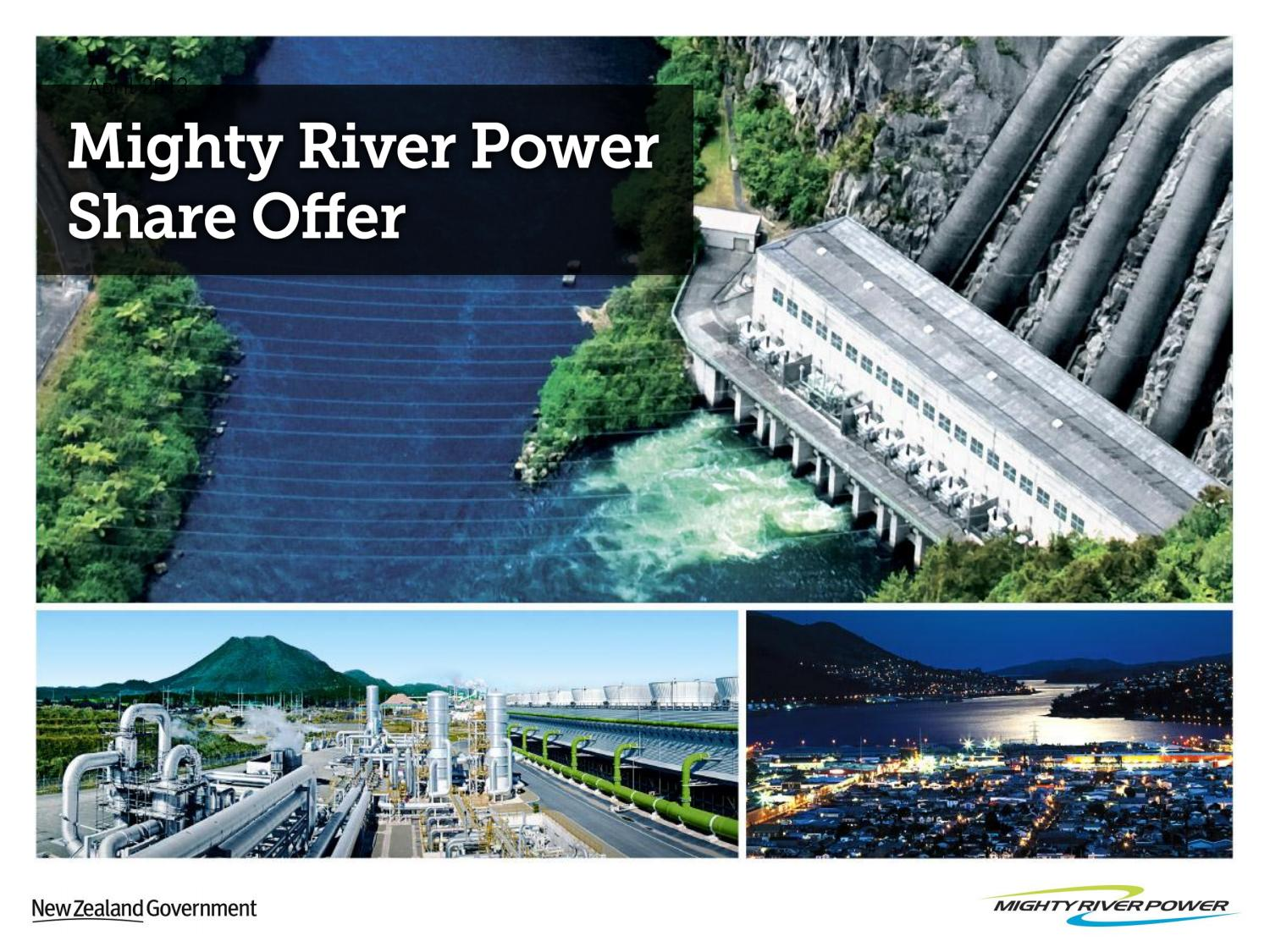 Ipo price of mighty river power shares