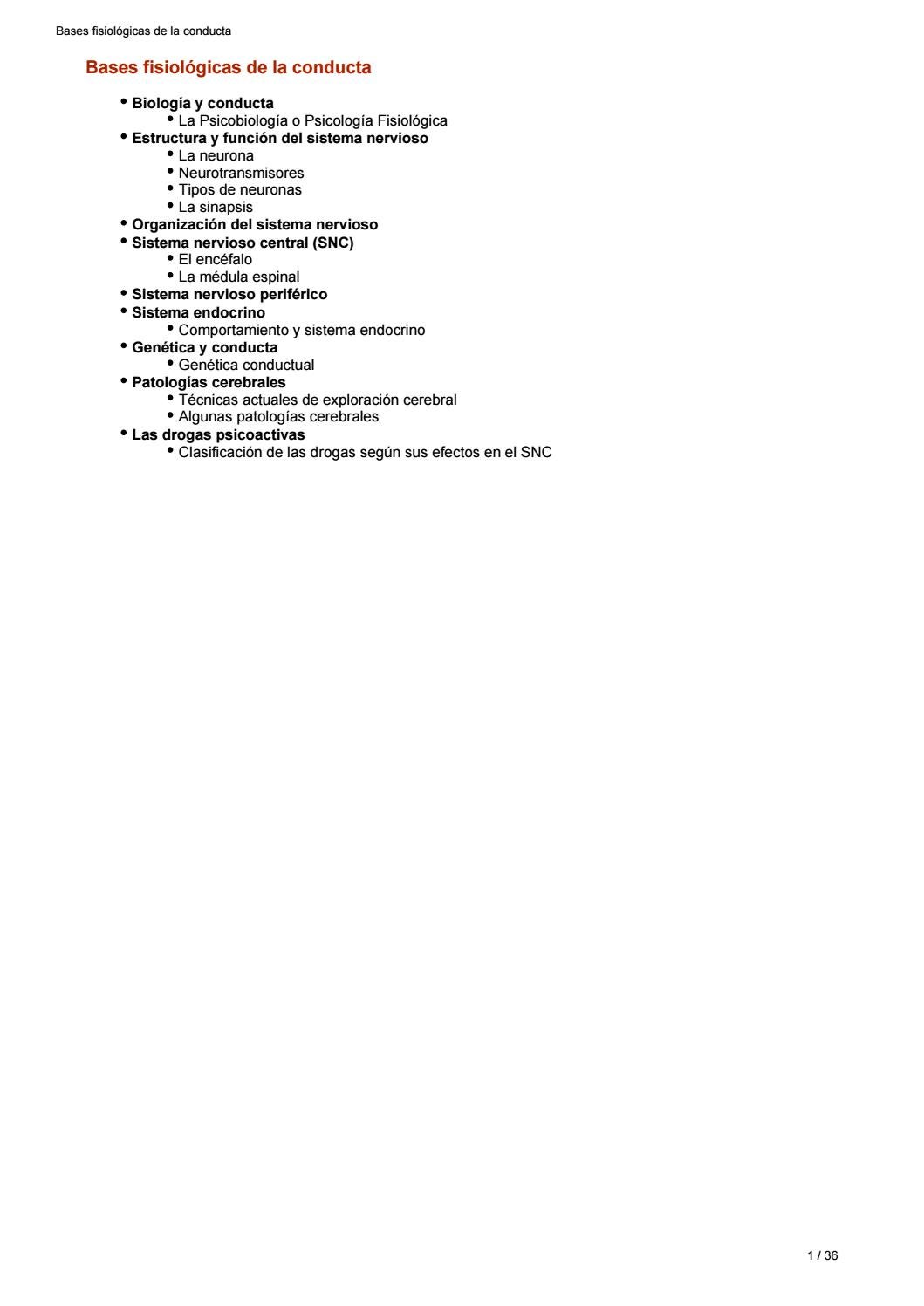 2 unidad bases fisiológicas de la conducta by antonio alba cifuentes ...