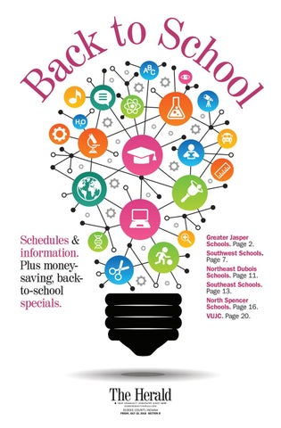 dfeb55e52 2016 Back To School by The Herald - issuu