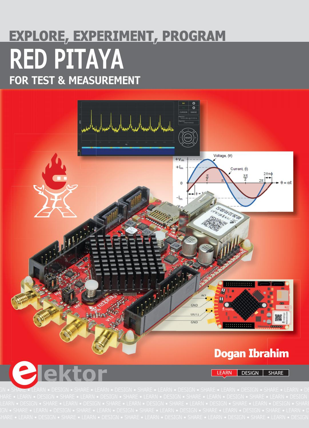 Red Pitaya for Test and Measurement by Elektor - issuu