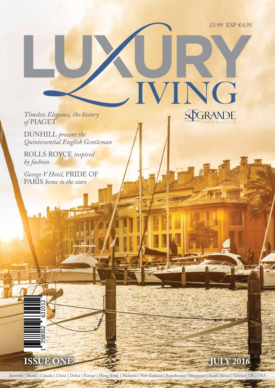 435708c90f3f Luxury Living Magazine by ClearVision Marketing - issuu