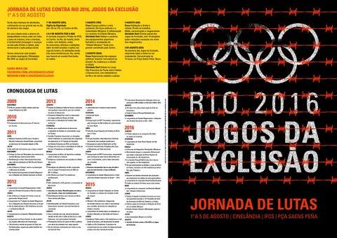 ab8376c53e Dossiê Olimpíada Rio 2016
