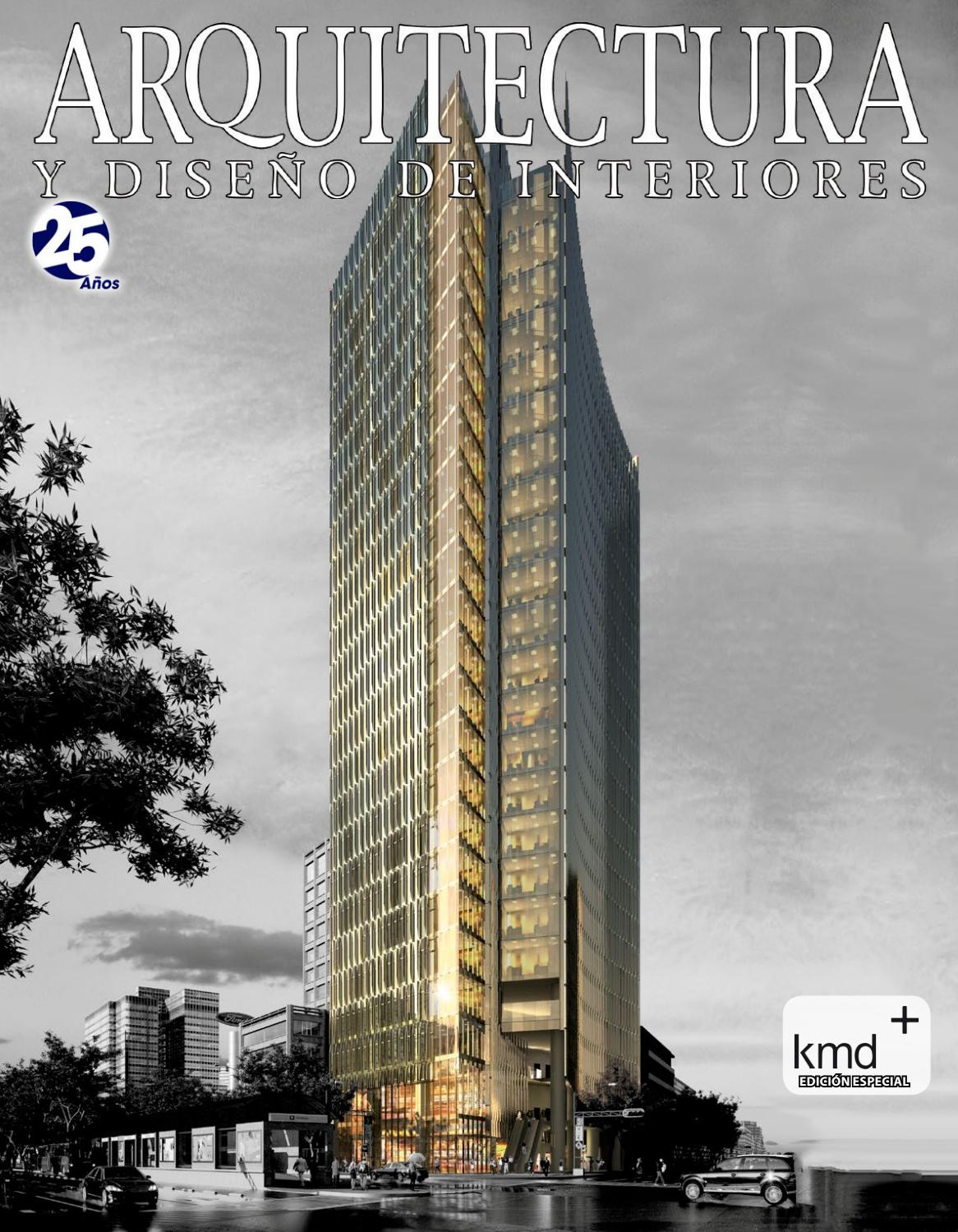 Arquitectura y dise o de interiores 102 ed kmd by - Diseno y arquitectura de interiores ...