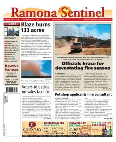 Ramona sentinel 07 21 16 by mainstreet media issuu page 1 fandeluxe Gallery
