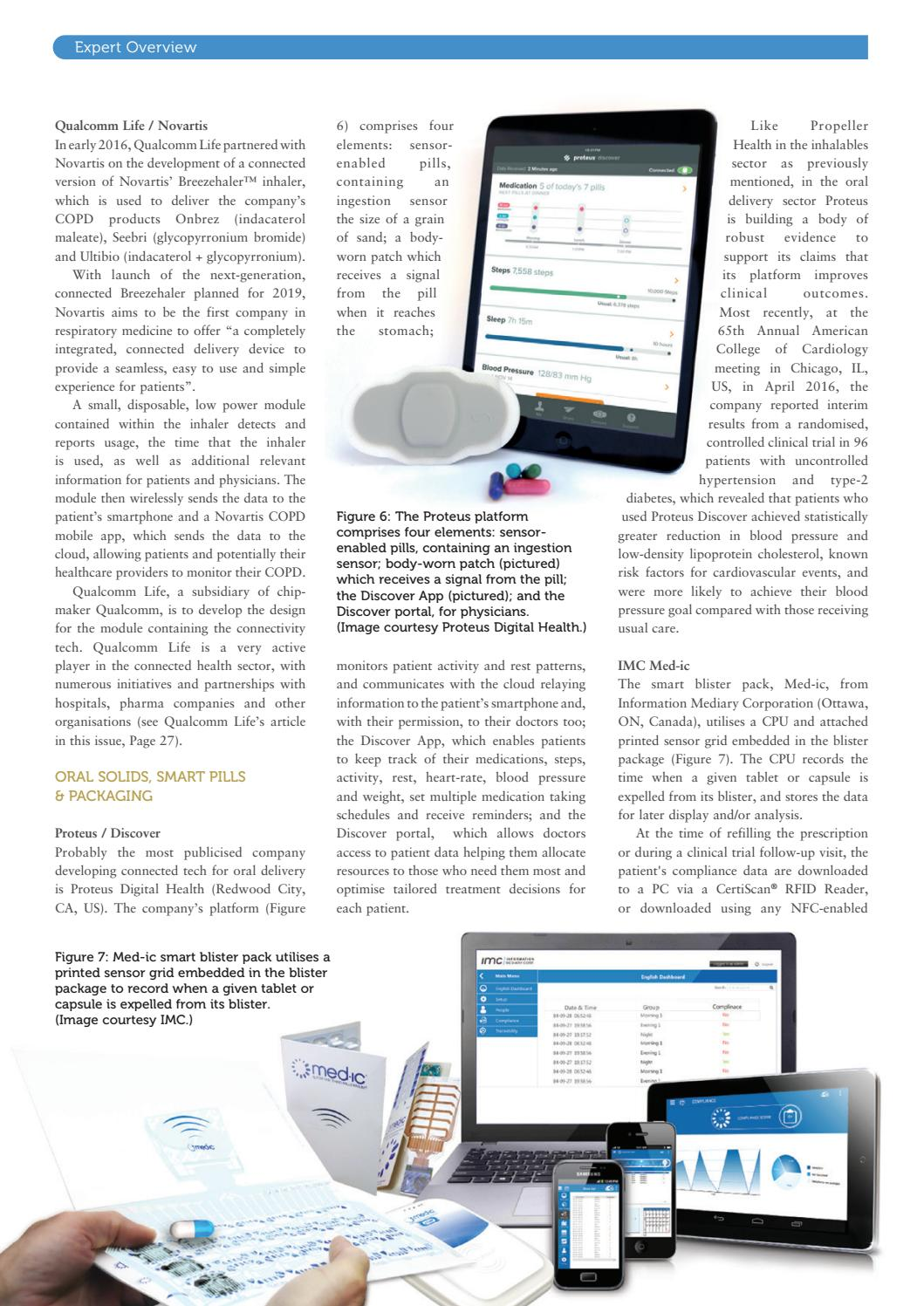 Connectivity in Drug Delivery - ONdrugDelivery - Issue 68