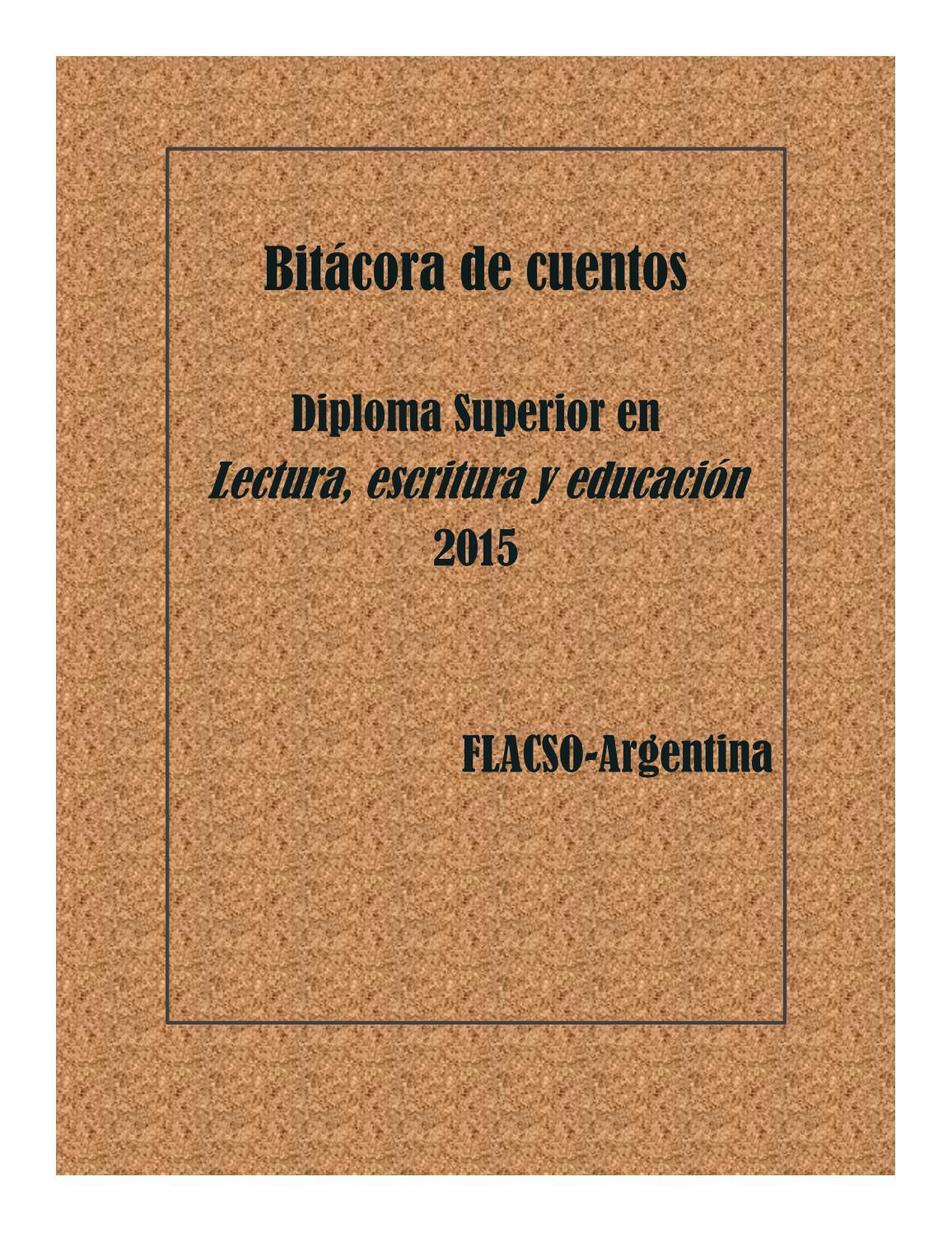 Bitacora 2015 Lectura Escritura Y Educacion Flacso By Flacso  # Bitacora Muebles