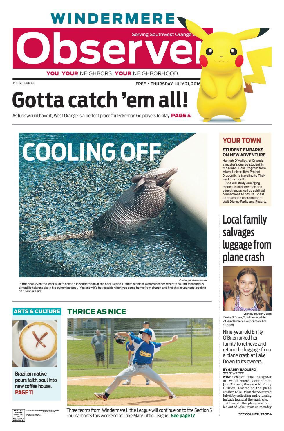 07.21.16 Windermere Observer by Orange Observer - issuu