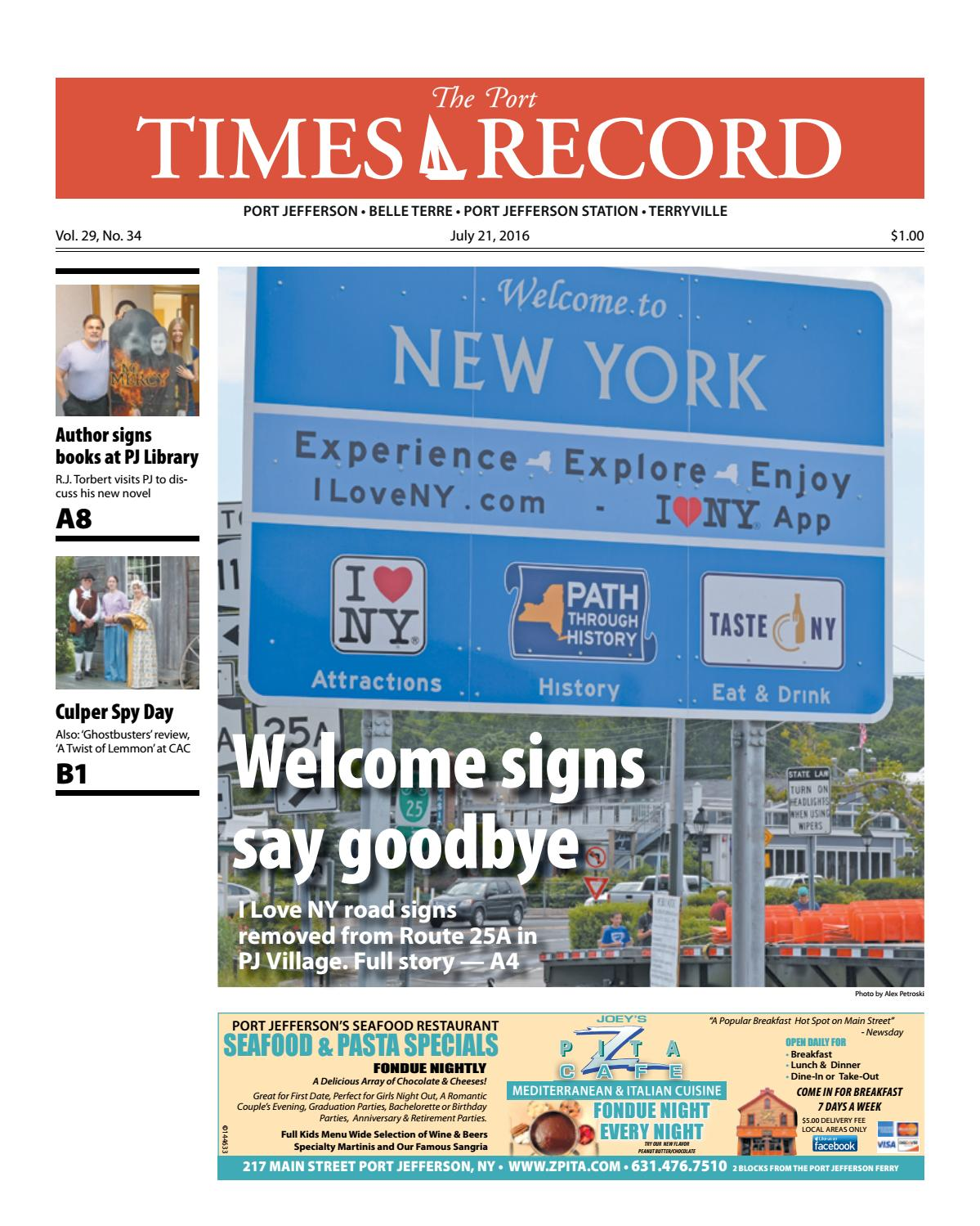 The Port Times Record - July 21, 2016 by TBR News Media - issuu
