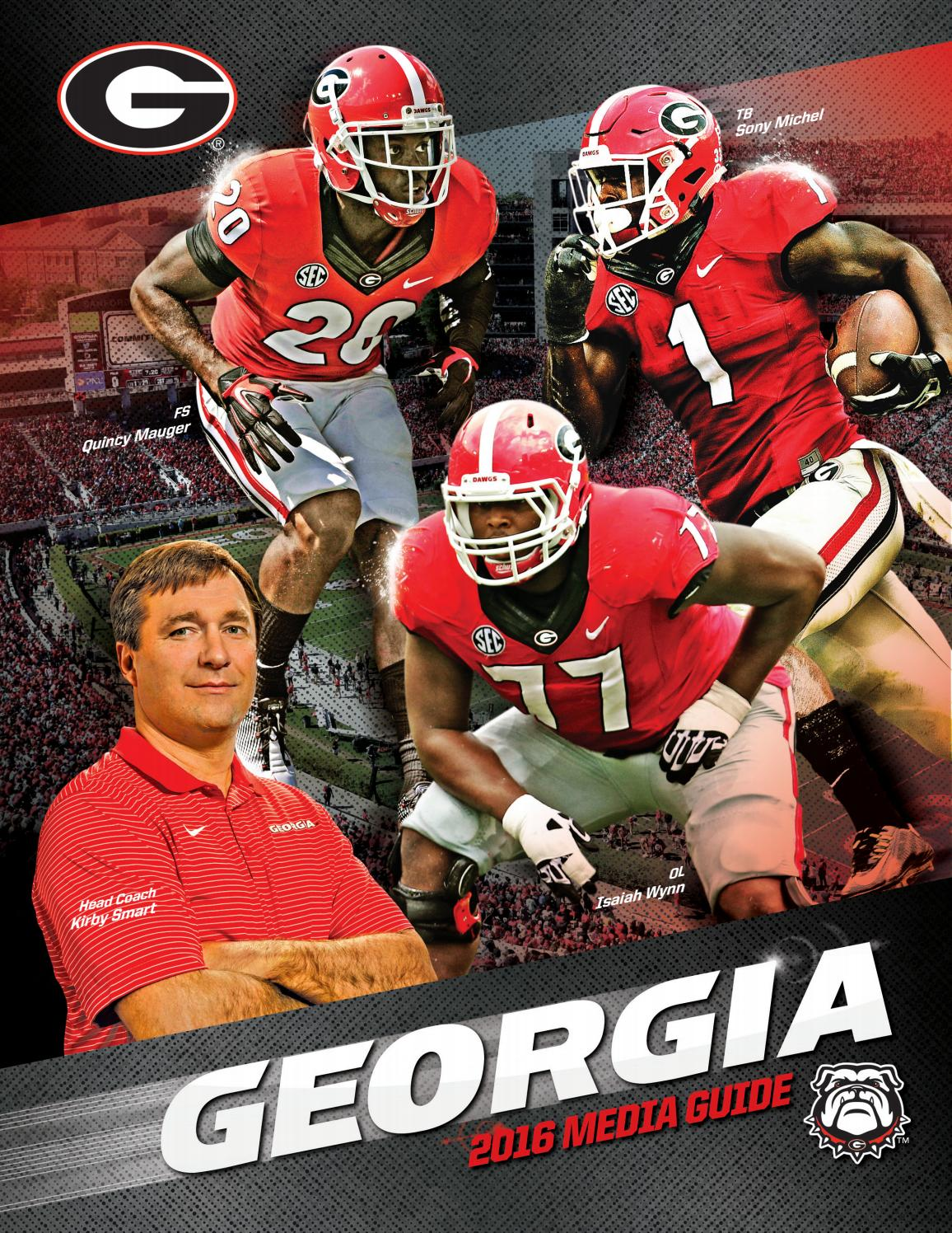 2016 Georgia Bulldog Football Media Guide by Georgia Bulldogs ...