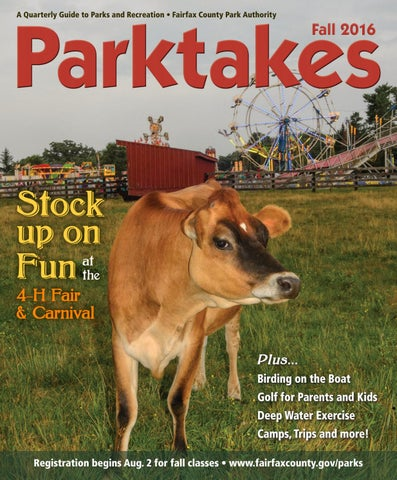 bd68525df2a6 A Quarterly Guide to Parks and Recreation • Fairfax County Park Authority