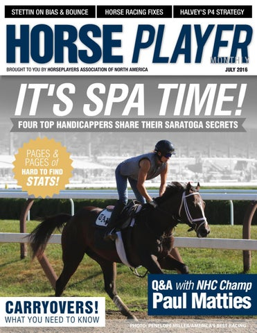 Horseplayer Monthly - July 2016 Issue