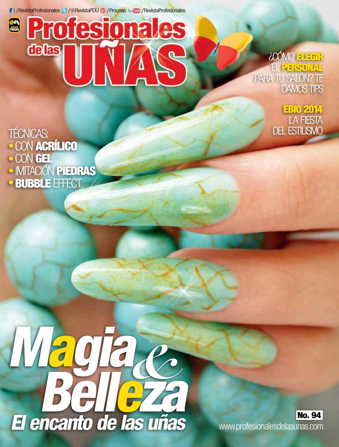 Profesionales de las uñas No. 94 by Jaime Flores - issuu