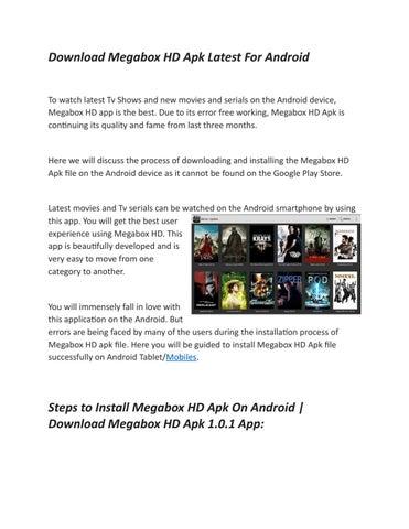 Megabox HD on iOS by Megabox hd on iOS - issuu
