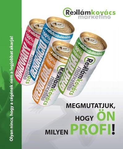 Reklámajándék katalógus - Reklámkovács Marketing by Reklámkovács ... 1fb63aa2e4
